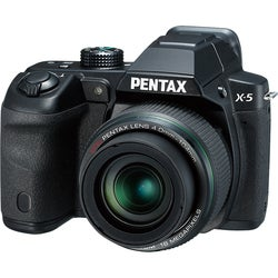 Pentax X-5 16MP Black Digital Camera