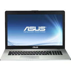 "Asus N76VJ-DH71 17.3"" Notebook - Black"