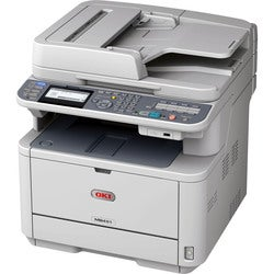 Oki MB451W LED Multifunction Printer - Monochrome - Plain Paper Print