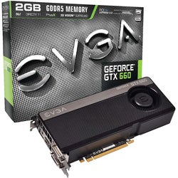 EVGA GeForce GTX 660 Graphic Card - 993 MHz Core - 2 GB GDDR5 SDRAM -