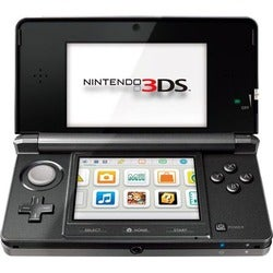 Nintendo 3DS Black Game Console