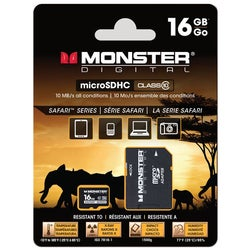 Monster Digital Safari SDUSA-0016-A 16 GB microSD High Capacity (micr