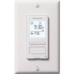 Honeywell RPLS540A1002/U ECONOSwitch Programmable Light Switch Timer