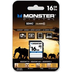 Monster Digital 16 GB Secure Digital High Capacity (SDHC)