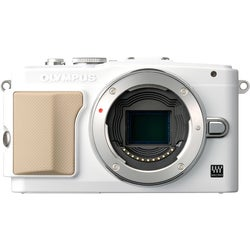 Olympus PEN E-PL5 16.1MP White Mirrorless Digital SLR Camera (Body Only)