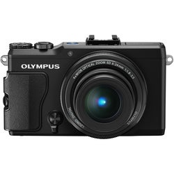 Olympus Stylus XZ-2 12MP Black Digital Camera