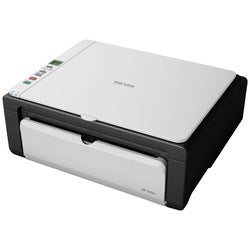 Ricoh Aficio SP 100SU e Laser Multifunction Printer - Monochrome - Pl