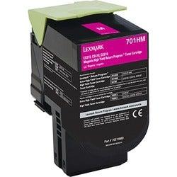 Lexmark Unison 701HM Toner Cartridge - Magenta