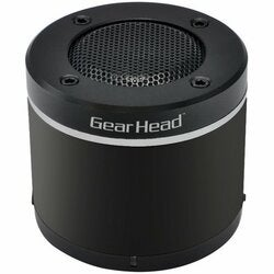 Gear Head BT3000BLK Speaker System - Wireless Speaker(s) - Black, Sil