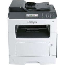 Lexmark MX410DE Laser Multifunction Printer - Monochrome - Plain Pape
