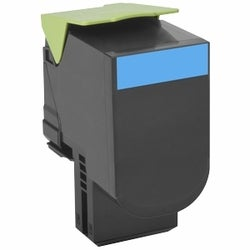Lexmark Toner Cartridge - Cyan (1)