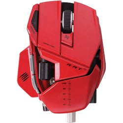 Mad Catz R.A.T. 9 Wireless Gaming Mouse for PC and Mac - Red
