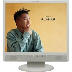 "Planar Office Desktop PL1700 LCD Monitor - 17"" - White"