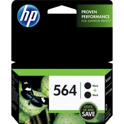 HP 564 Twin-pack Ink Cartridge - Black