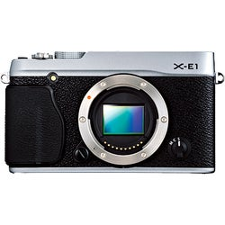 Fujifilm X-E1 16.3 Megapixel Mirrorless Camera (Body Only) - Silver