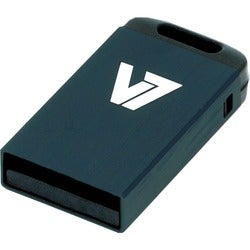 V7 VU24GCR 4 GB USB 2.0 Flash Drive - Black