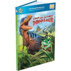 LeapFrog LeapReader/Tag Book: Leap and the Lost Dinosaur Yes Story El