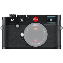 Leica M Digital Rangefinder Black Camera Body