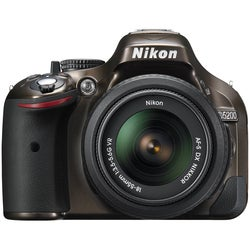 Nikon D5200 24.1 Megapixel Digital SLR Camera (Body with Lens Kit) -