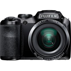 Fujifilm FinePix S4800 16MP Black Digital Camera