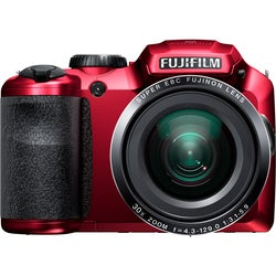 Fujifilm FinePix S6800 16.2MP Red Digital Camera