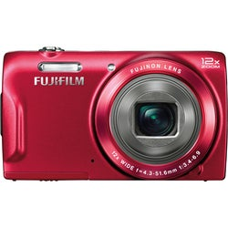 Fujifilm FinePix T550 16MP Red Digital Camera