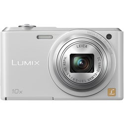 Panasonic Lumix DMC-SZ3 16.1 Megapixel Compact Camera - White
