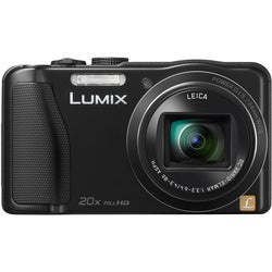 Panasonic Lumix DMC-ZS25 16.1MP Black Digital Camera