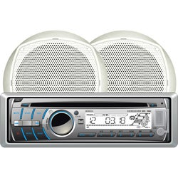 Dual MCP300 Marine CD/MP3 Player - 240 W RMS - Single DIN