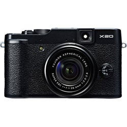 Fujifilm X20 12MP Black Digital Camera