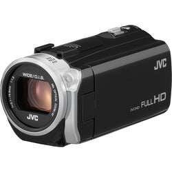 "JVC GZ-E505B Digital Camcorder - 3"" - Touchscreen LCD - CMOS - Full H"