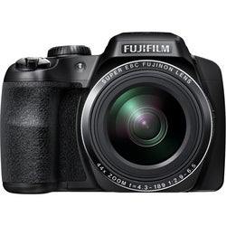 Fujifilm FinePix S8400W 16.2 Megapixel Bridge Camera - Black