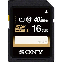 Sony 16 GB Secure Digital High Capacity (SDHC)1 Pack