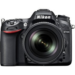 Nikon D7100 24.1 Megapixel Digital SLR Camera (Body with Lens Kit) -
