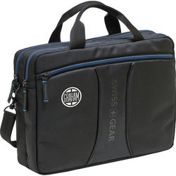 "Wenger JETT Carrying Case for 10.2"" Netbook, iPad - Black, Blue"