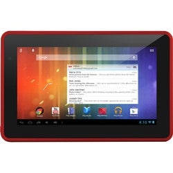 "Ematic Genesis Prime 4 GB Tablet - 7"" - Red"