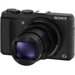 Sony Cyber Shot HX50V 20.4MP Black Digital Camera
