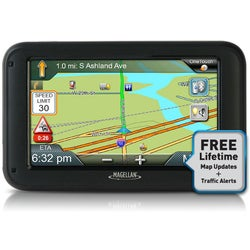 Magellan RoadMate Commercial 5370T-LMB Automobile Portable GPS Naviga