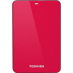 Toshiba Canvio Connect 500 GB External Hard Drive - Portable - 1 Pack