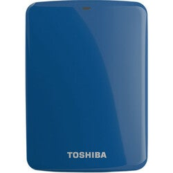 Toshiba Canvio Connect 1 TB External Hard Drive - Portable - 1 Pack -