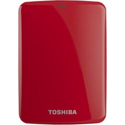 Toshiba Canvio Connect 2 TB External Hard Drive - Portable - 1 Pack -