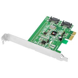 SIIG DP SATA 6Gb/s 2-Port Hybrid PCIe