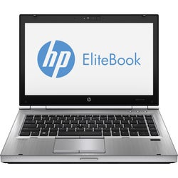 "HP EliteBook D8E80UT 14"" LED Notebook - Intel Core i5 2.70 GHz - Plat"