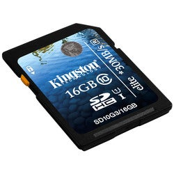 Kingston Elite 16 GB Secure Digital High Capacity (SDHC) - 1 Card