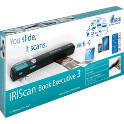 I.R.I.S IRIScan Book 3 Executive Handheld Scanner