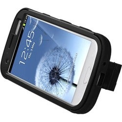 BasAcc Black/ Black TUFF Hybrid Case for Samsung Galaxy S III/ S3