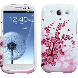 BasAcc Spring Flower Case for Samsung Galaxy S III/ S3 i9300
