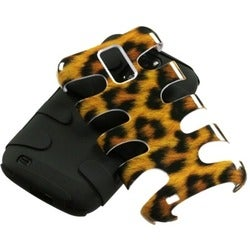 INSTEN Leopard Fishbone Phone Case Cover for Samsung Galaxy S II/ T989 Hercules