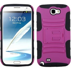 BasAcc Case with Stand for Samsung Galaxy Note II/ Note 2 N7100