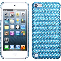 INSTEN Dots/ Blue/ White/ Diamond iPod Case Cover for Apple iPod touch 5